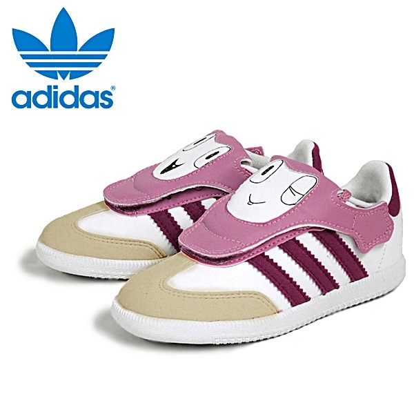 huge selection of 905dc dd9cc new product 79397 a3f32 Adidas Samba Adikids Inf (cremavioleta)