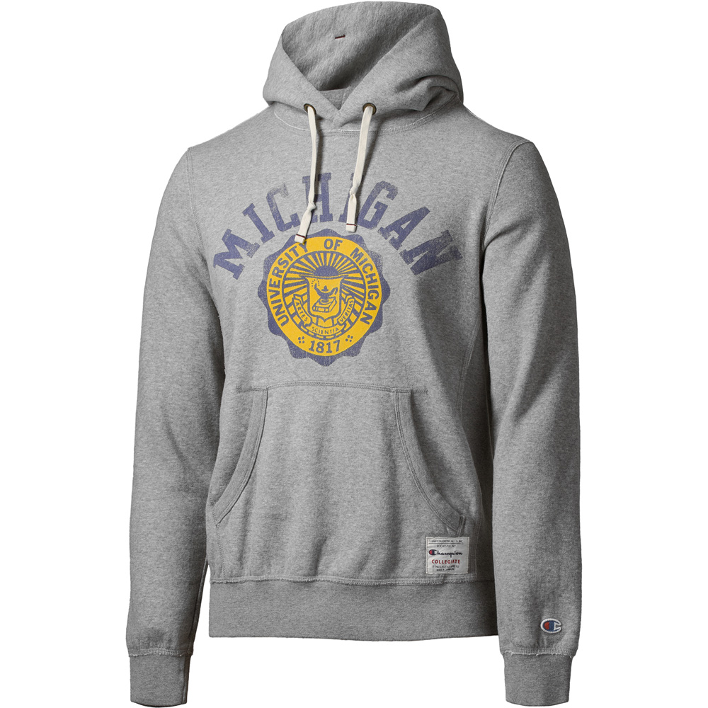 Athlentic Rochester Champion University Sudadera Michigangris 0wNnkOPX8