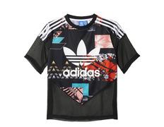 wholesale dealer e1828 b41ac Adidas Originals Mujer Camiseta Soccer Tropical ( multicolor)