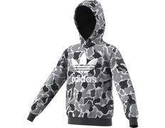 brand new bc7a0 a5e73 Adidas Originals Junior Trefoil Camo Hoodie