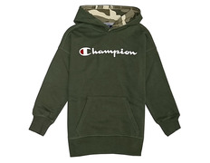 online store 70fe3 ccbc6 Champion Athletic Kids Classic Logo Hooded (Forest Green)