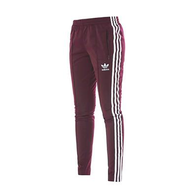 amargo Acercarse implicar  Adidas Originals Mujer Pantalón Superstar Track Top (maroon/lide