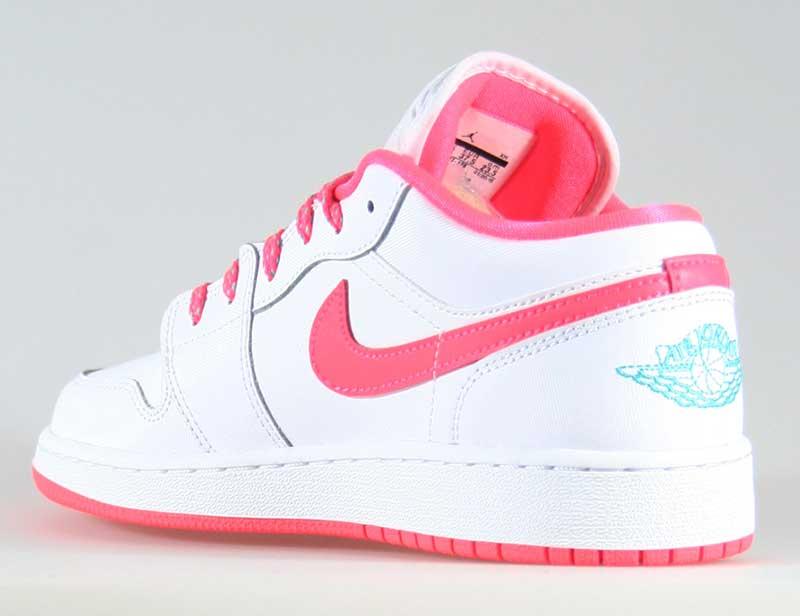 air jordan 1 low mujer rosas