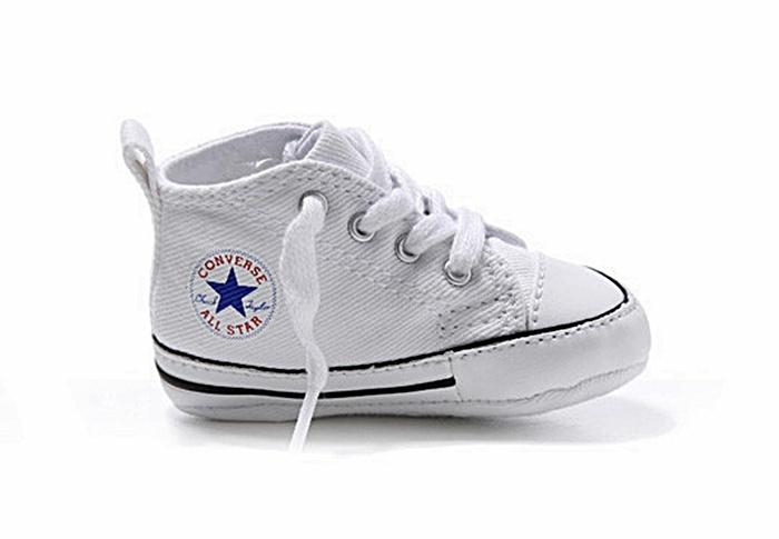 zapatillas converse niño blancas