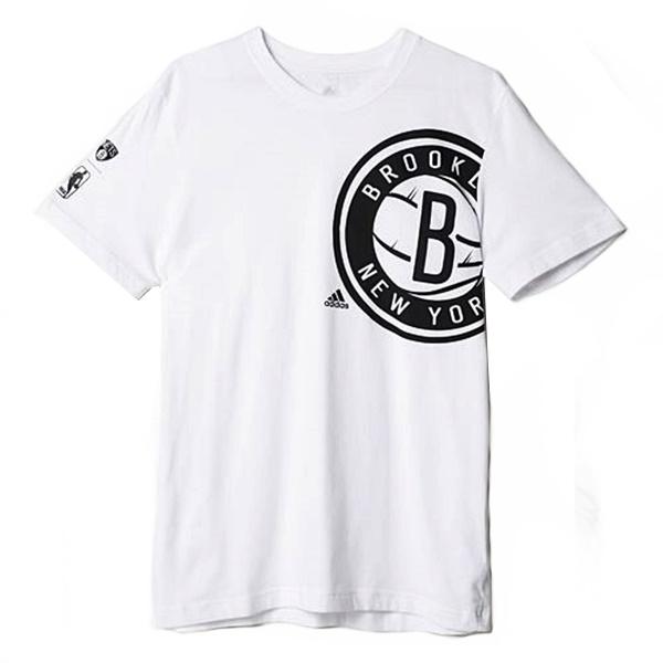 Adidas Camiseta NBA Price Brooklyn Nets (blanco)