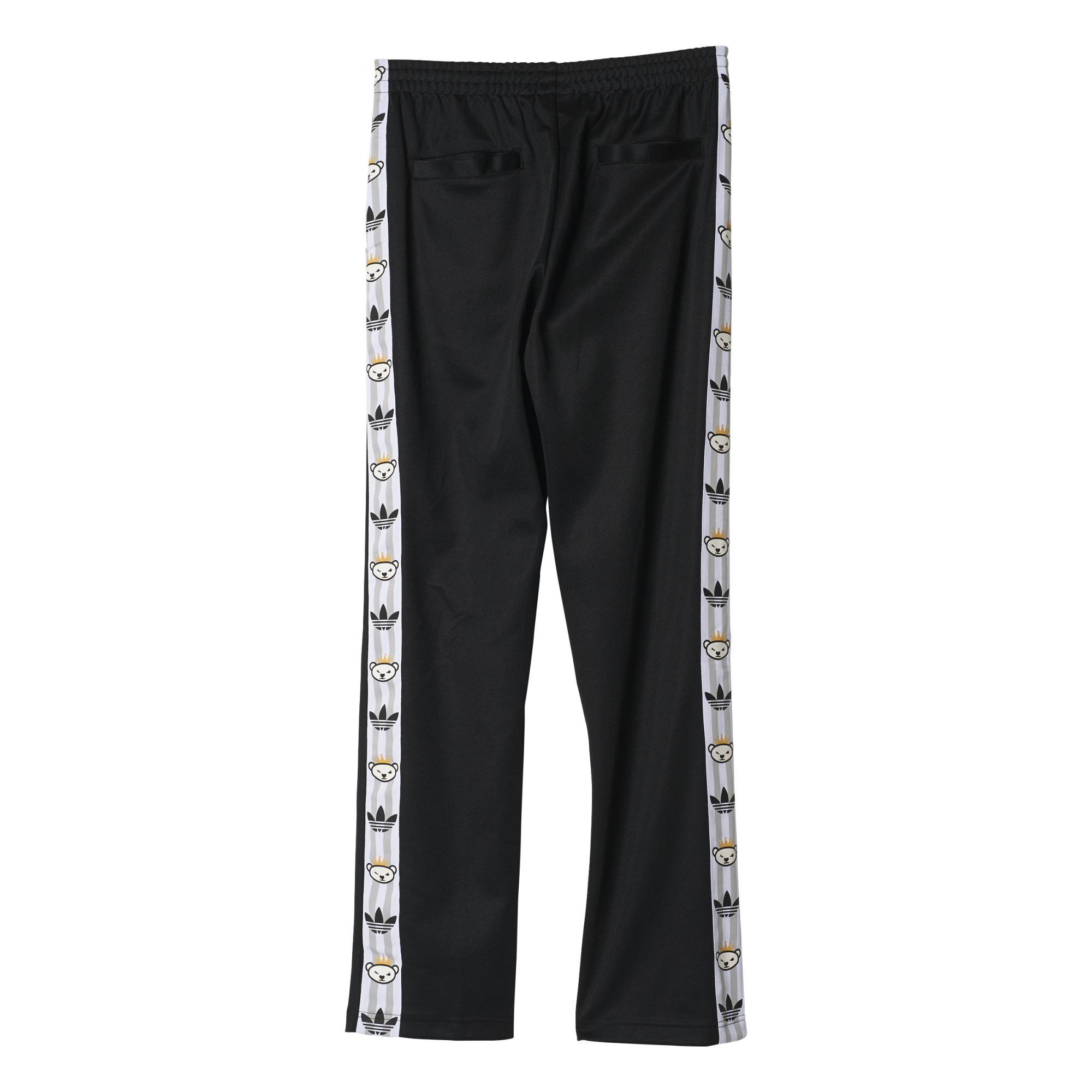 Nigo negro Adidas Retro Pantalón Bear By Originals xwqpXqRz