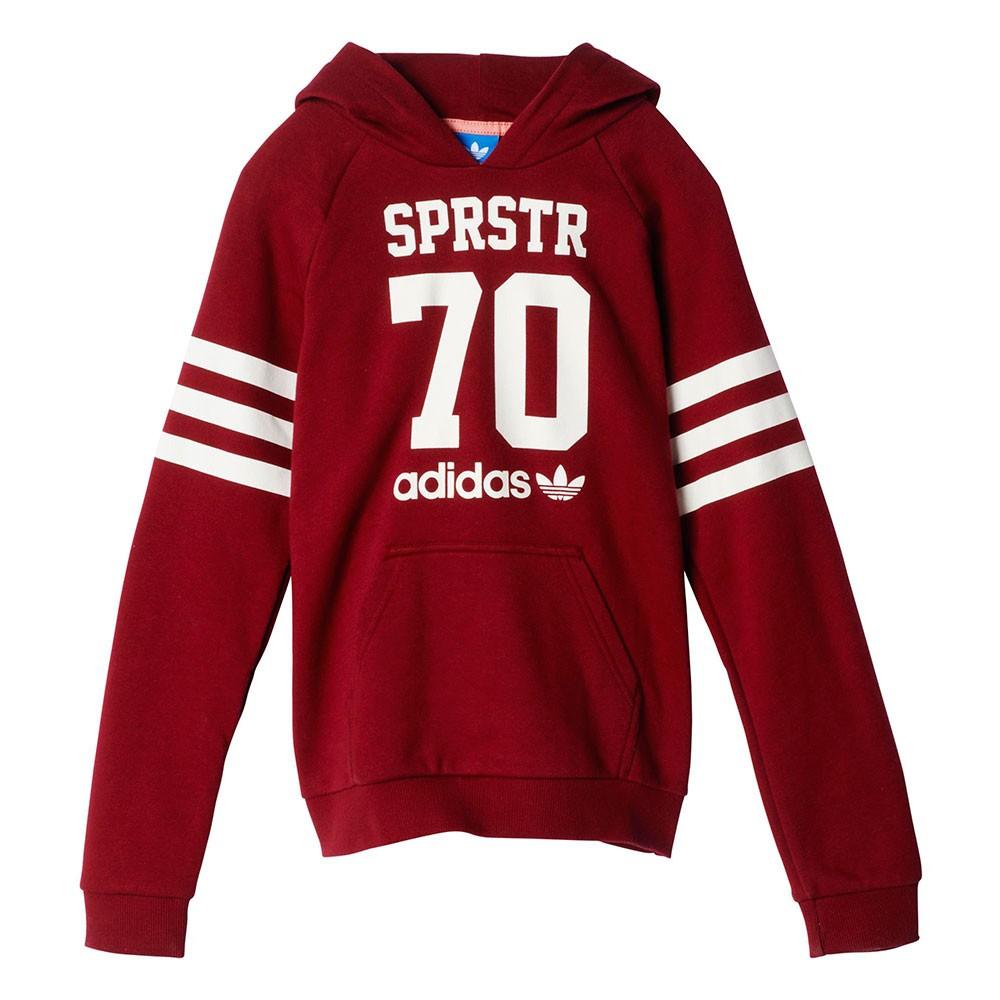Adidas Originals Junior Sudadera Superstar College (granateblanco)
