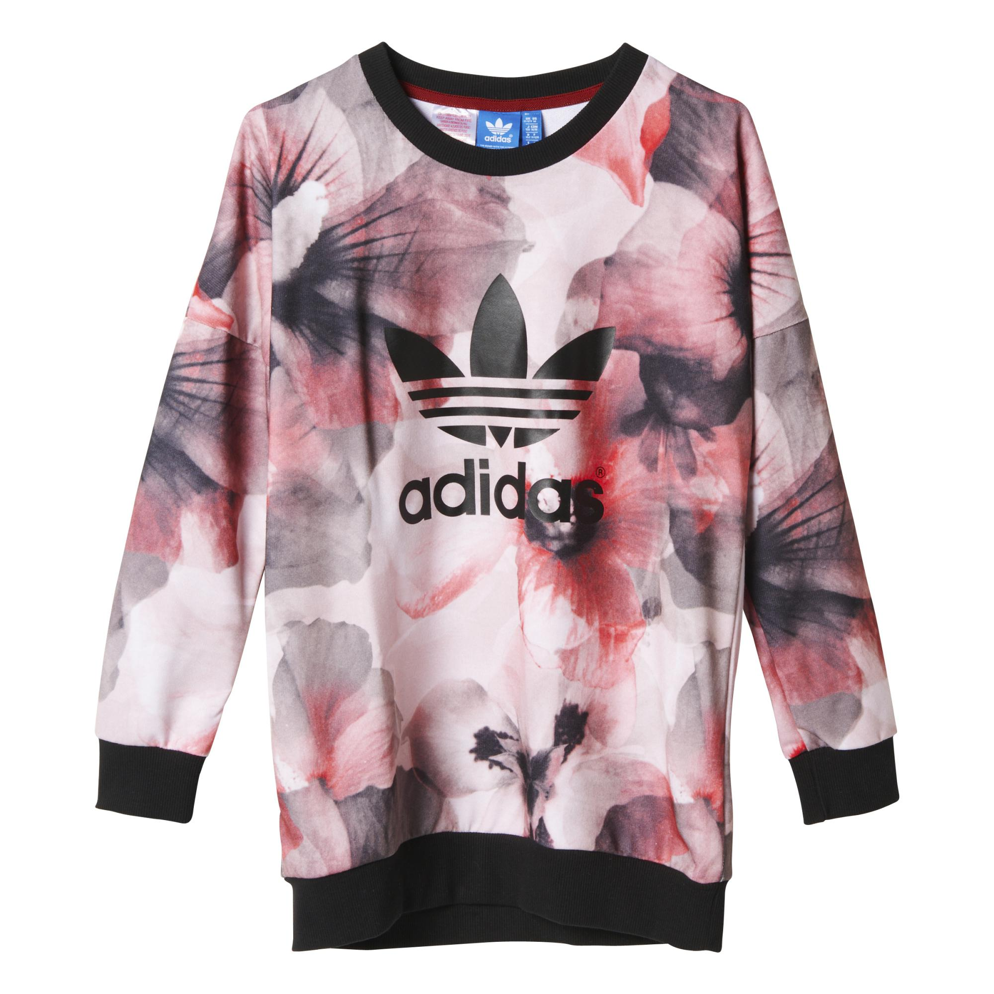 Sudadera Adidas Junior Allover Pullover Originals nkOZXNwP80