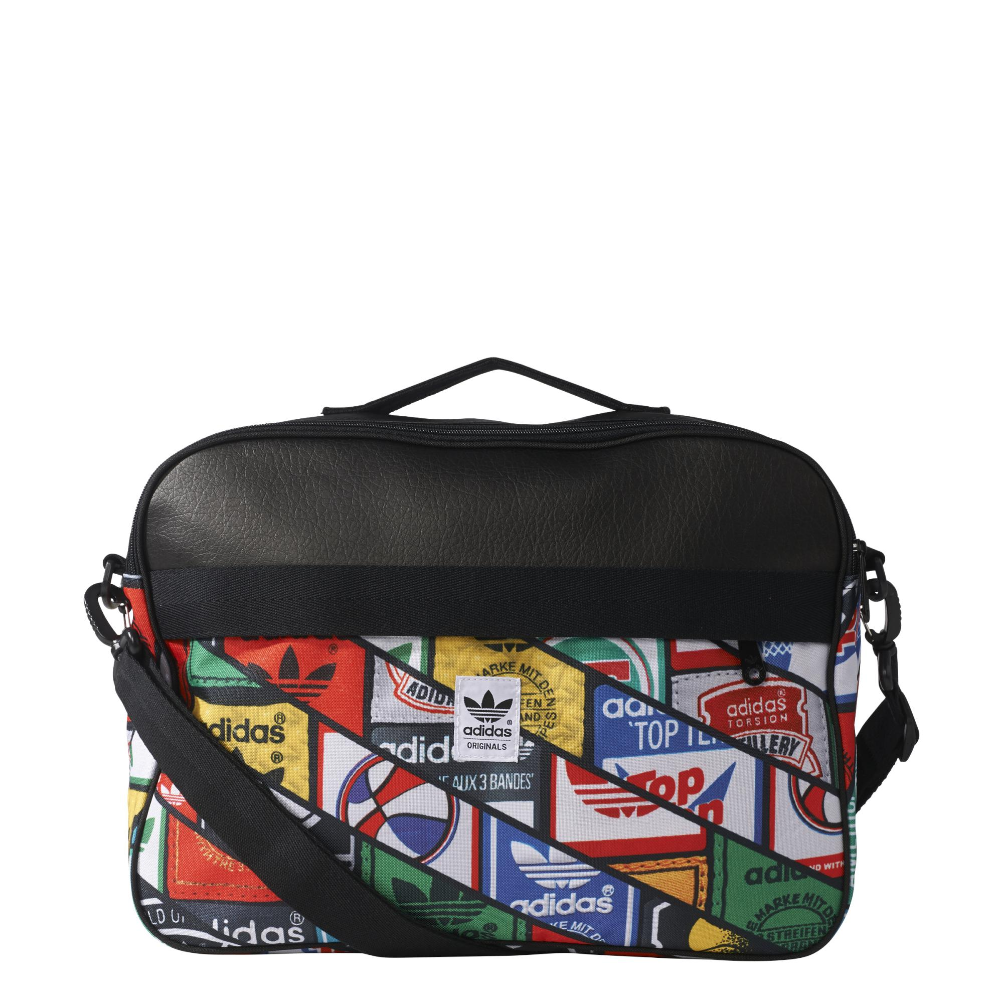 Airliner Originals Labels Bolso Tonguenegro Graphic Adidas nk8Nw0OPX