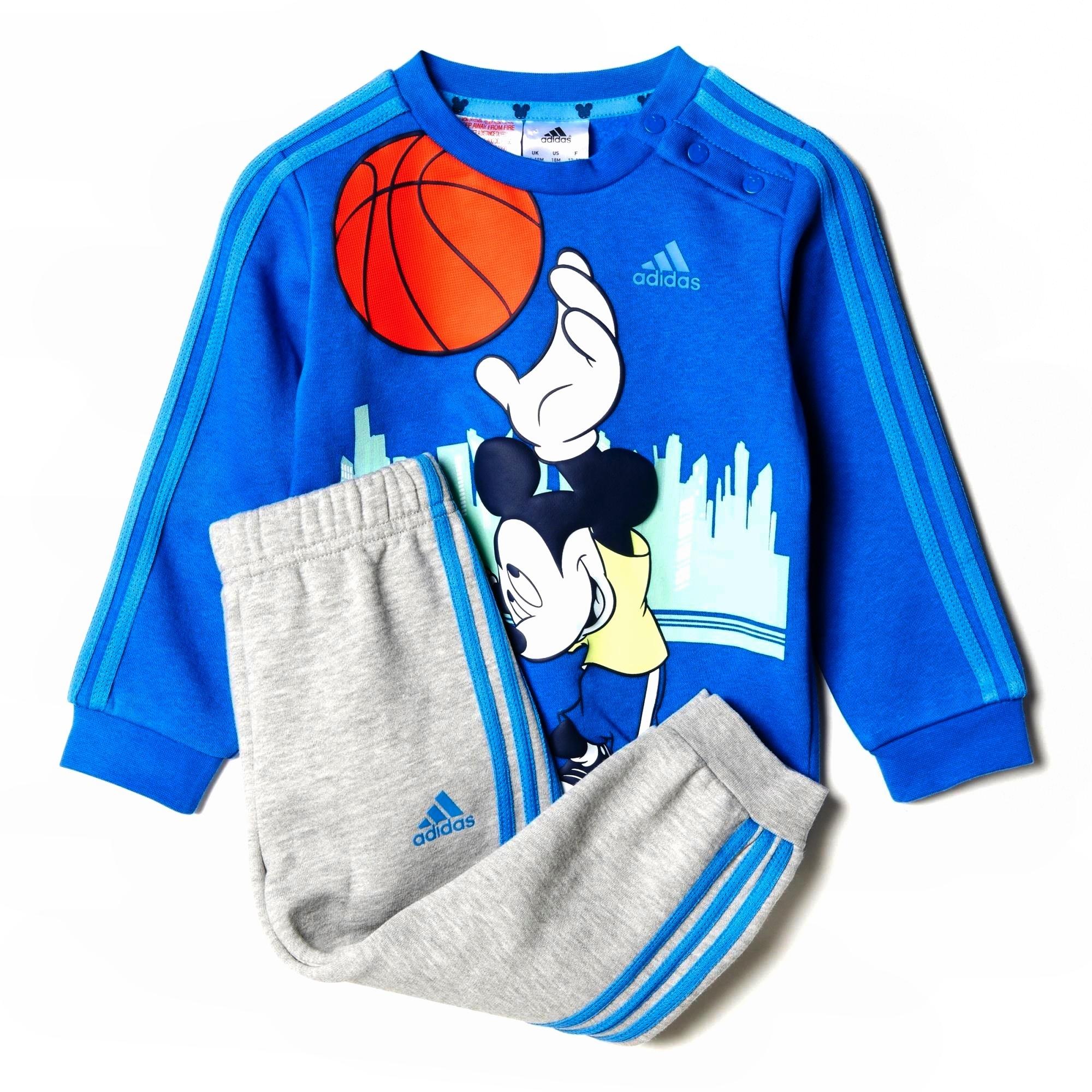8e5f3816c198 Adidas Chándal Disney Mickey Mouse Infantil (azul/gris)