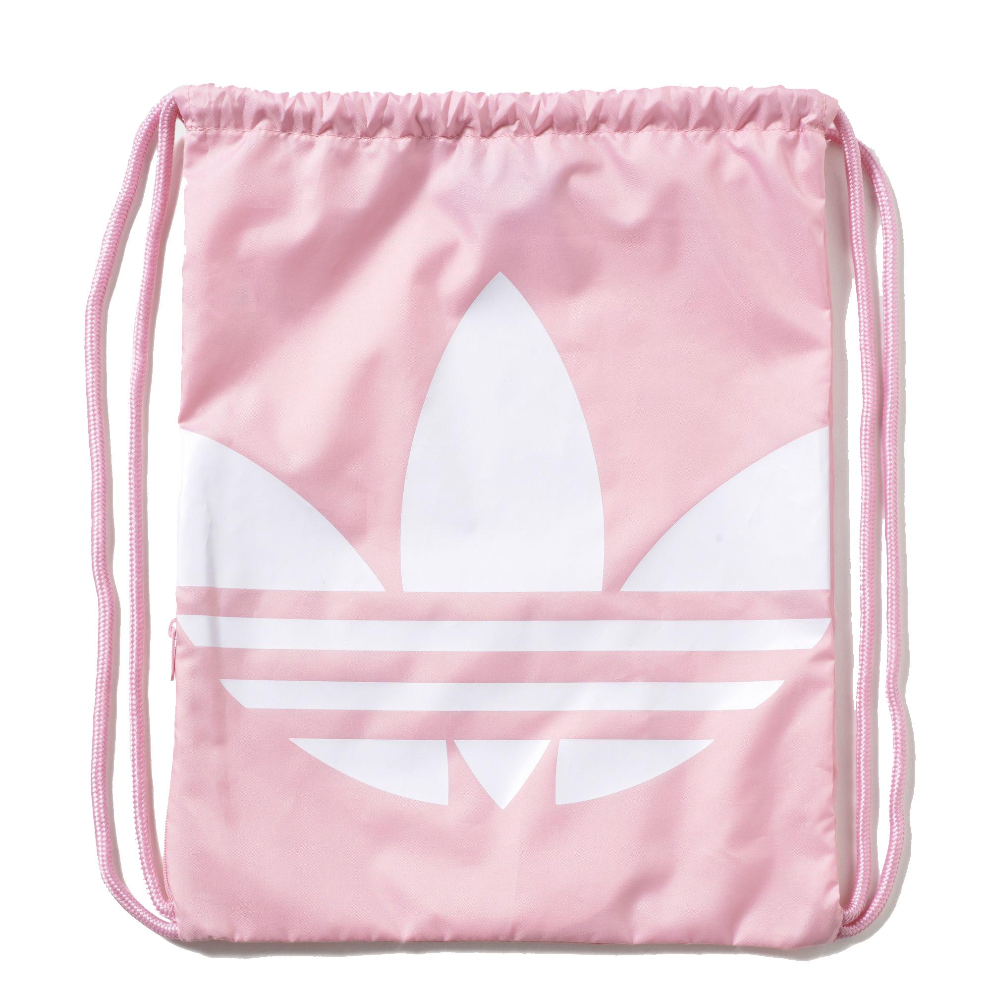 25916a38cf2 Adidas Originals Gym Sack Trefoil (light pink white)