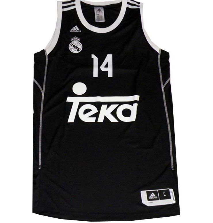 Camiseta Ayón Real Madrid Basket 2014 Negra