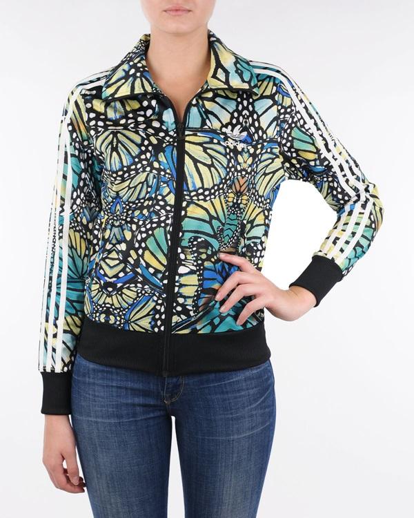 chaqueta adidas mujer multicolor