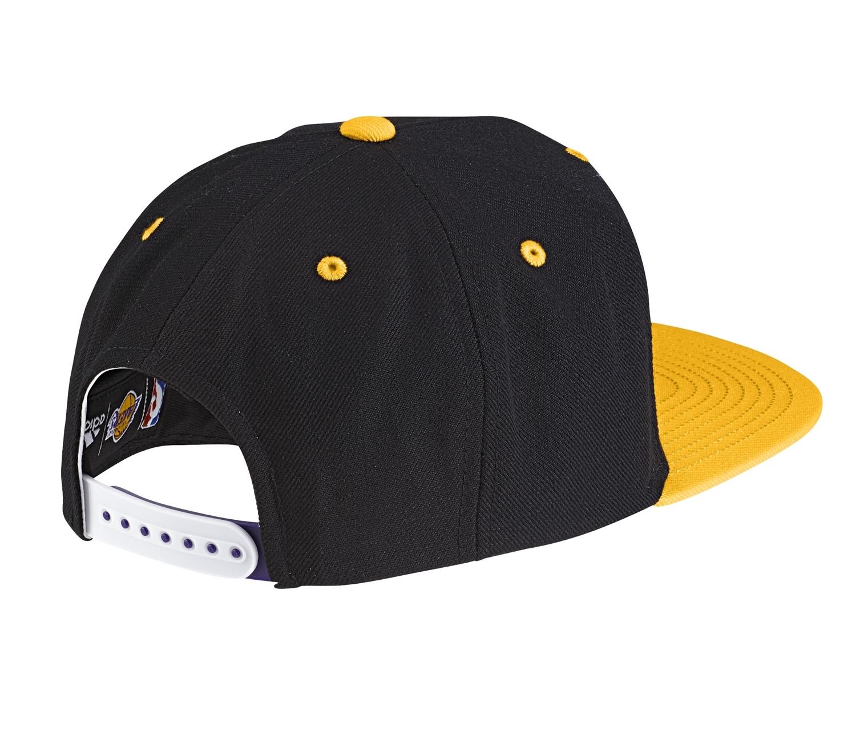 Plaga líquido Leonardoda  Adidas NBA Gorra L.A Lakers (negro/amarillo/blanco)