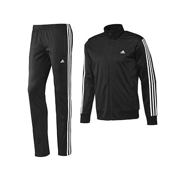 diseño exquisito venta barata ee. 2019 real Adidas Chándal TS Statement (negro/blanco)