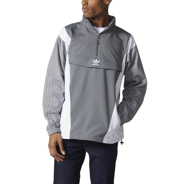 nuevo estilo f296f 9b470 Adidas Originals Blocked Anorak (Grey Two /Grey Four)