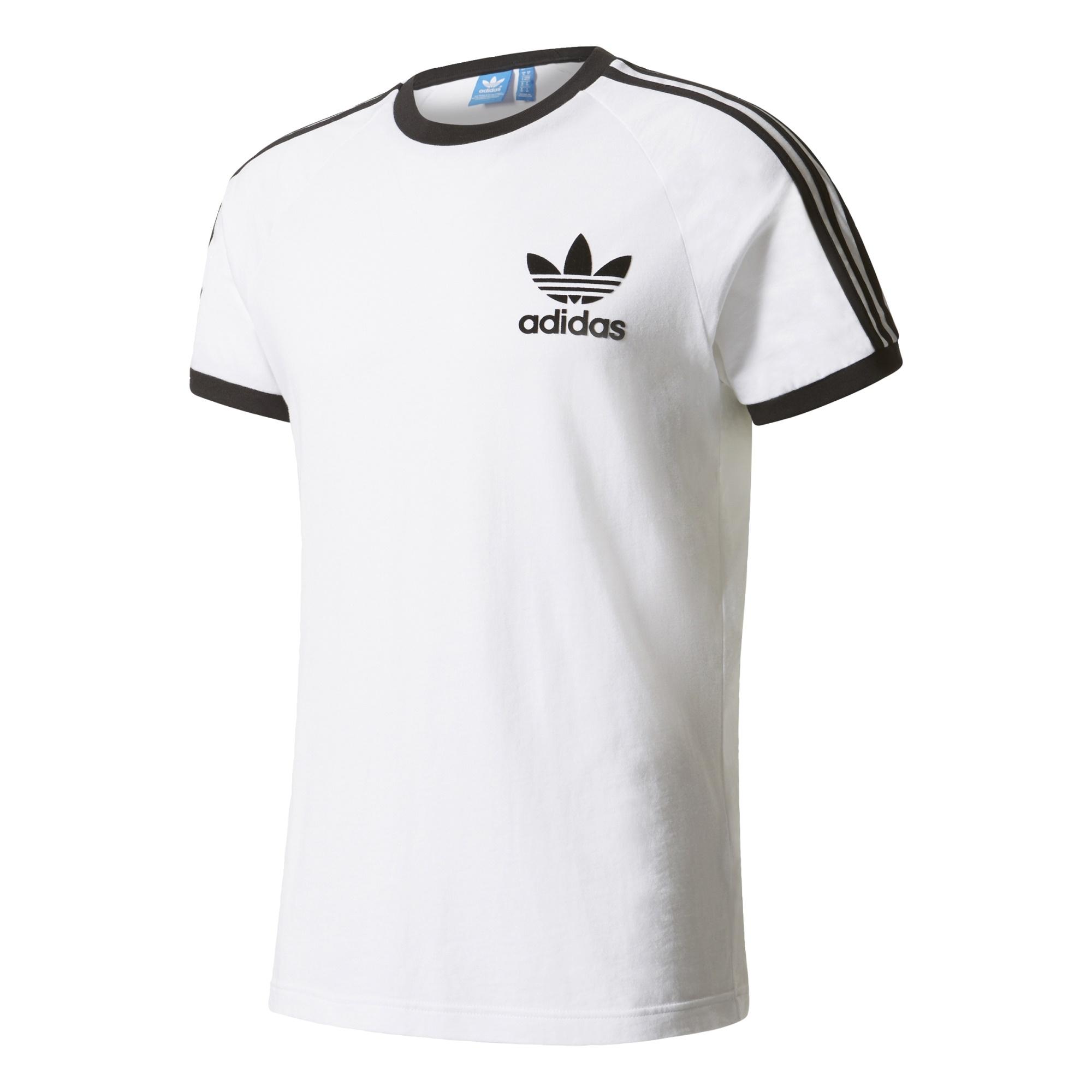 exilio pereza Atticus  camiseta adidas negra y blanca baratas online
