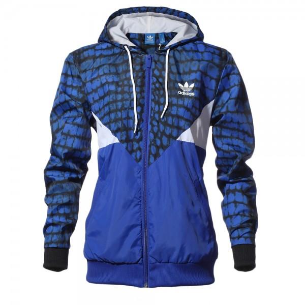 precio oficial costo moderado tienda del reino unido Adidas Originals Chaqueta Mujer Colorado Windbreaker (azul)