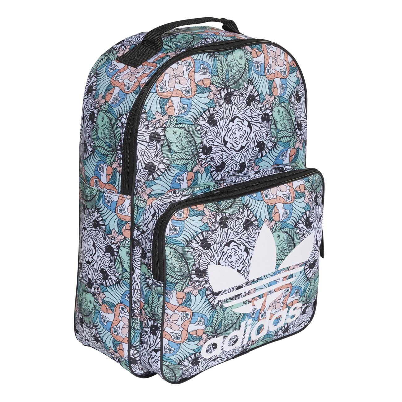 0d3ad83823d1a Adidas Originals Classic Backpack Animal Girl (Multicolor)