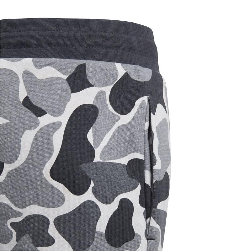 adidas originals junior trefoil camo pants  multicolor  carbon
