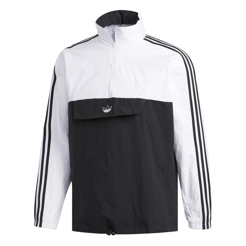 erupción beneficio Subjetivo  Adidas Originals Outline 1/2 Zip Anorak Windbreaker