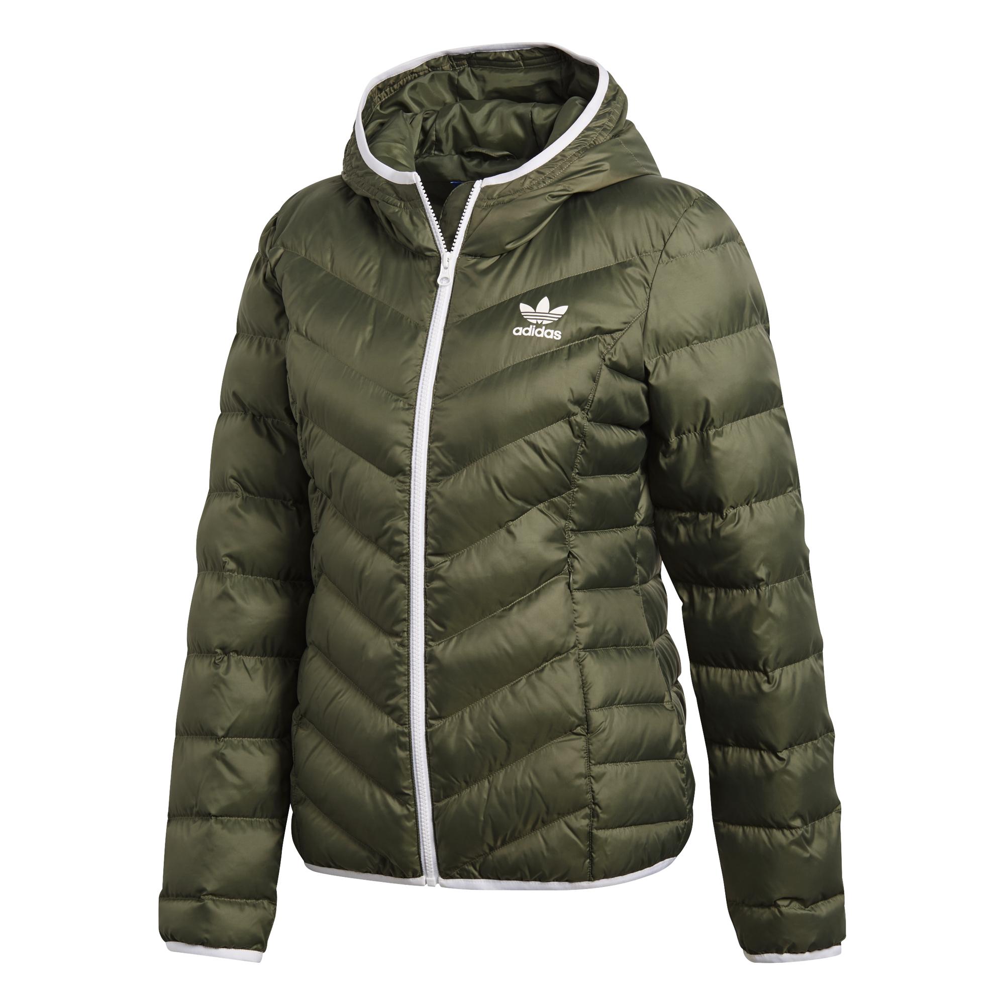 Adidas Originals chaqueta acolchada con corte slim Mujer