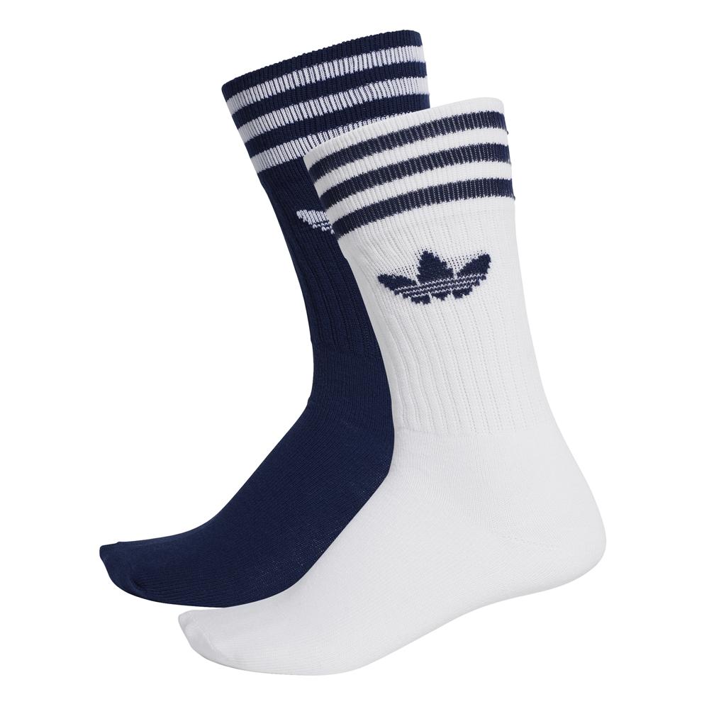 Adidas Originals Solid Crew Sock 2 Pairs (multicolor)