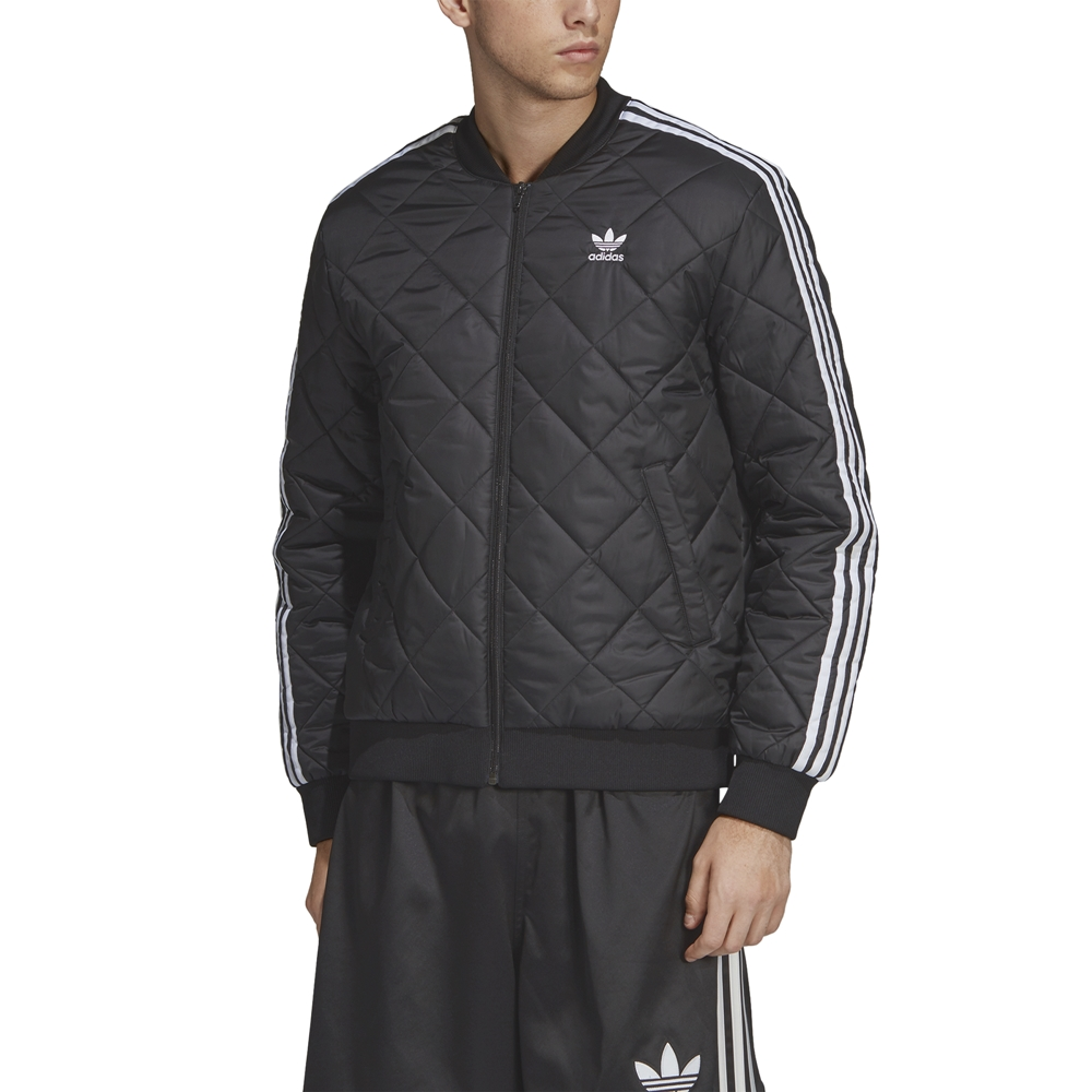 Colega temperamento Analgésico  Adidas Originals SST Quilted Jacket (black)