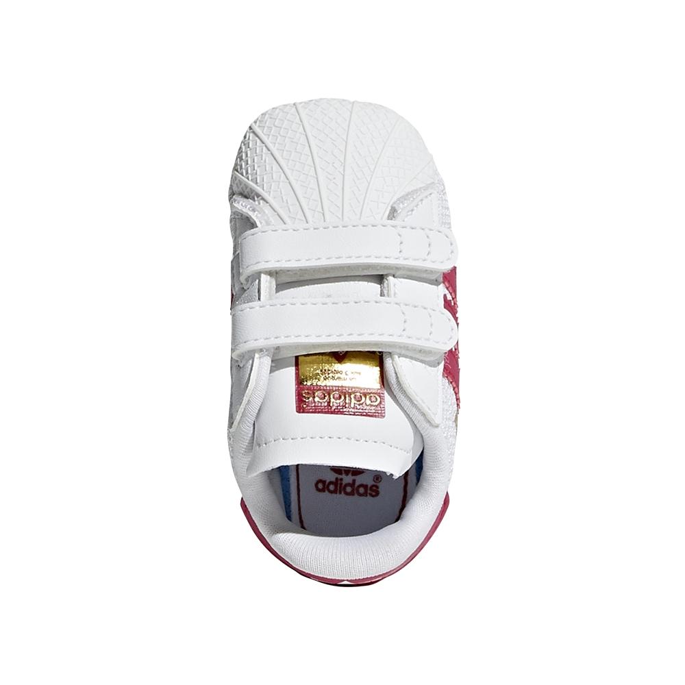 4c582e1fe7d Adidas Originals Superstar Crib (Footwear white   bold pink)