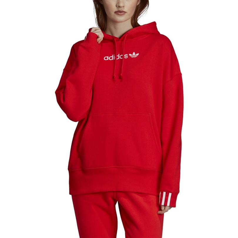 Adidas Originals Women Coeeze Hoodie (active red)