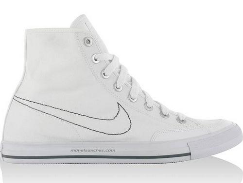 meet 62b0e c5696 Lonas Nike Go Mid Canvas (100 blanco)