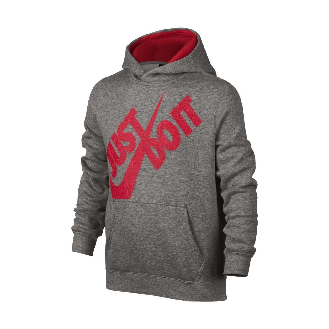Nike Sportswear Hoodie Boys063dk Heatheruniversit Do It Grey FKJl1Tc3